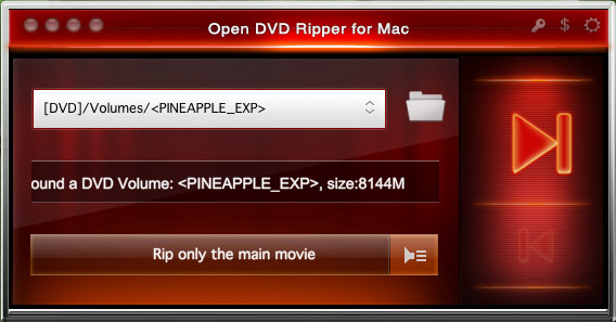 Open DVD Ripper for Mac is a DVD ripping tool for
